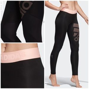 NWT Adidas Alphaskin Tights